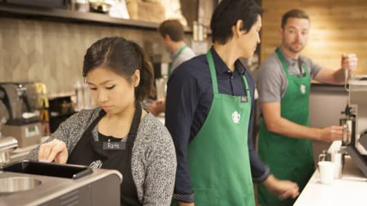 Starbucks profit up 23 percent as sales rise